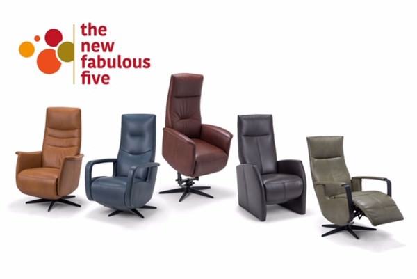 Relaxfauteuil 'The New Fabulous Five'